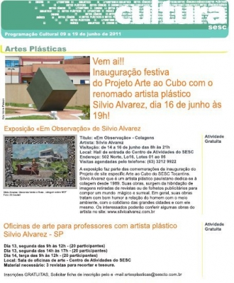 Arte Ao Cubo   Sesc Tocantins 20110630 2086056735