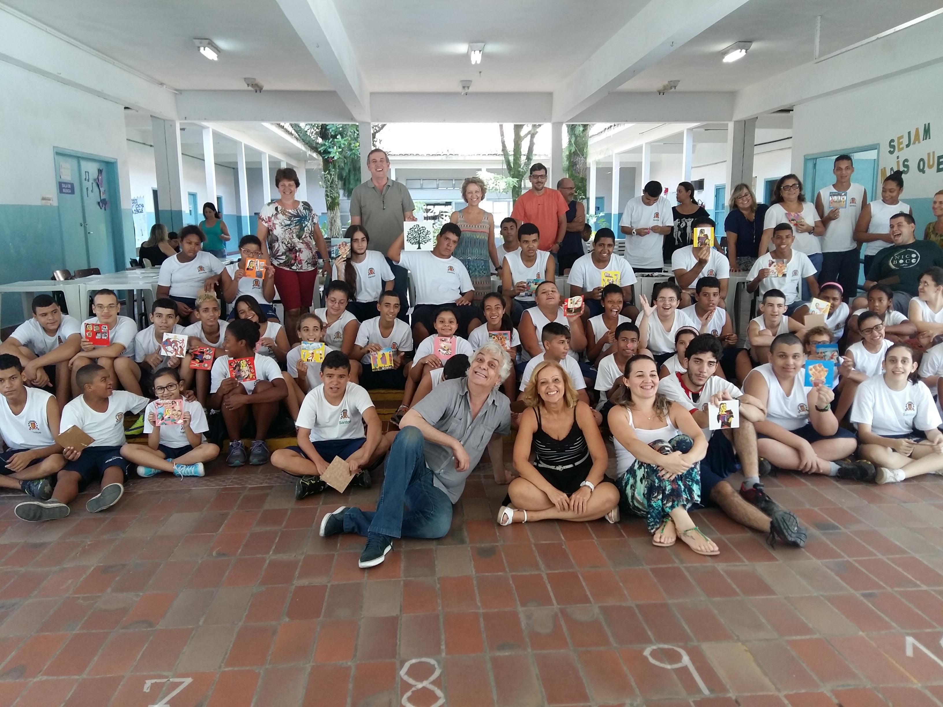 Projeto Artistas Do Futuro Em Santos
