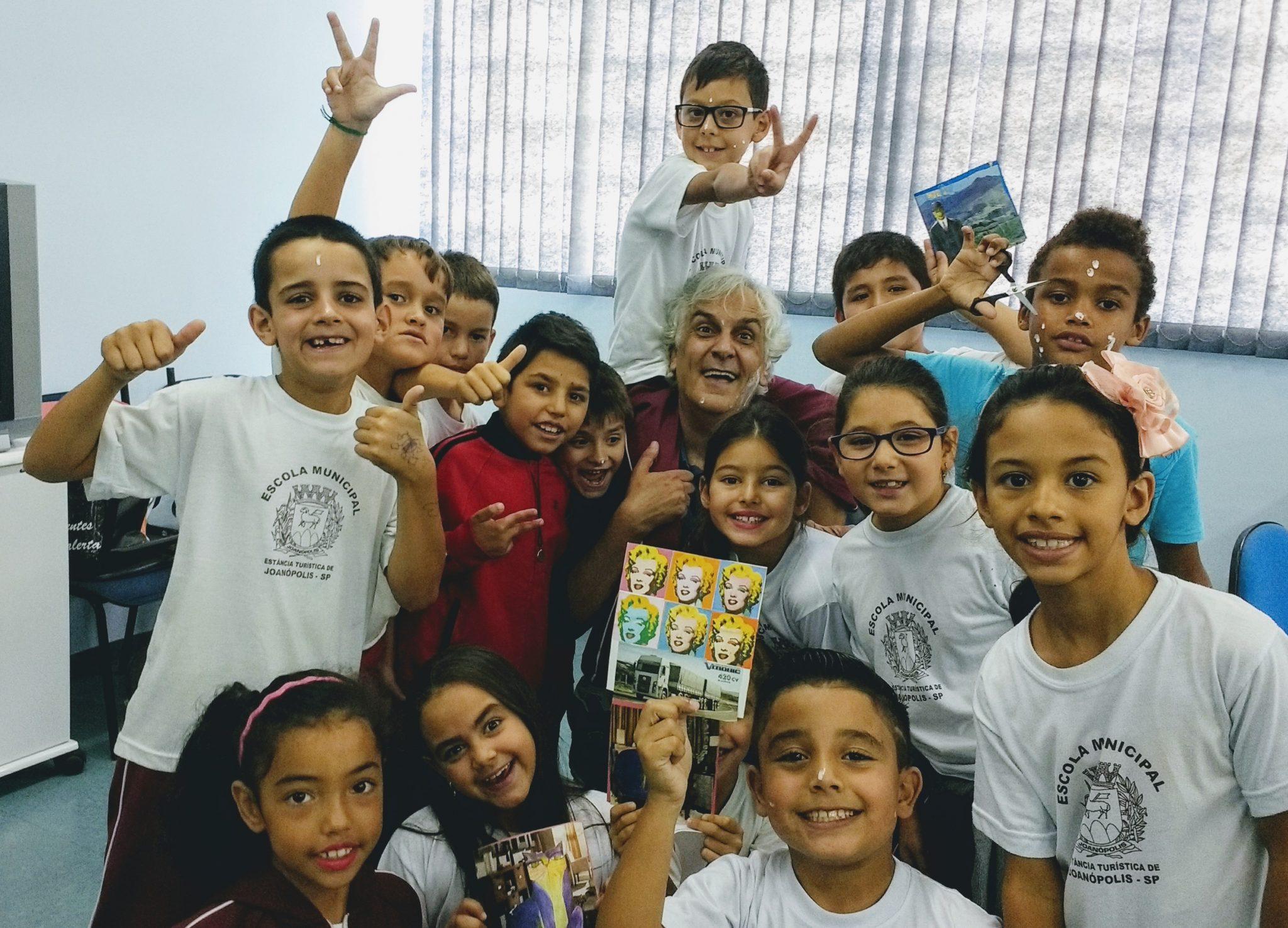 Projeto Artistas Do Futuro Escola Emília – Joanópolis 2017